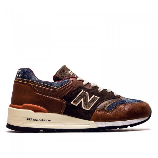 Herren Sneaker M997 SOC Brown Blue