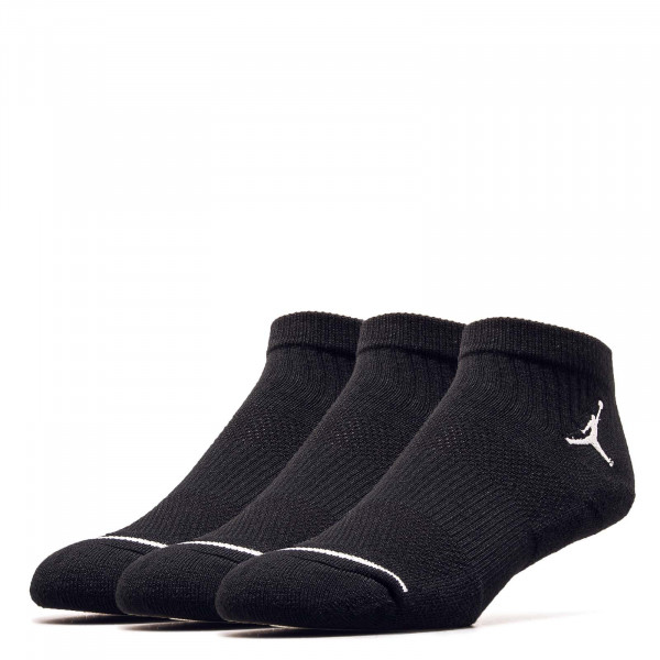 Socken 3er Pack Everyday Max Ankle Black Black
