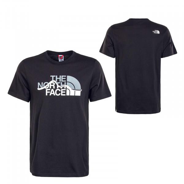 Herren T-Shirt - Mount Line - Black