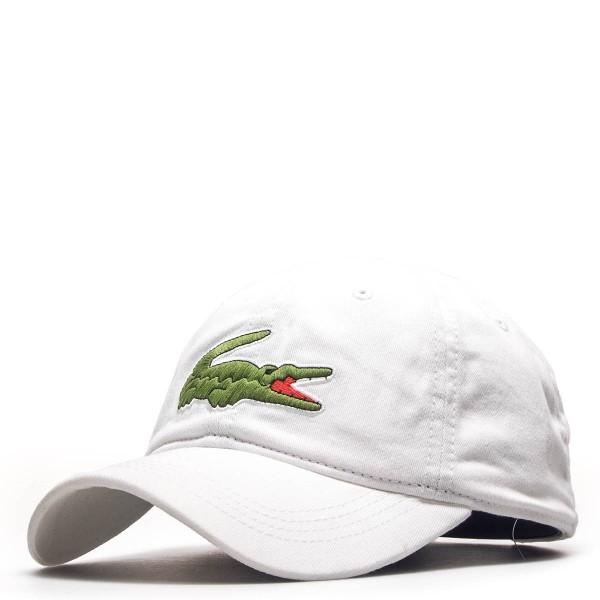 Lacoste Cap Logo White