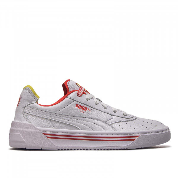 Puma Wmn Cali-0 Drive White Yellow Red