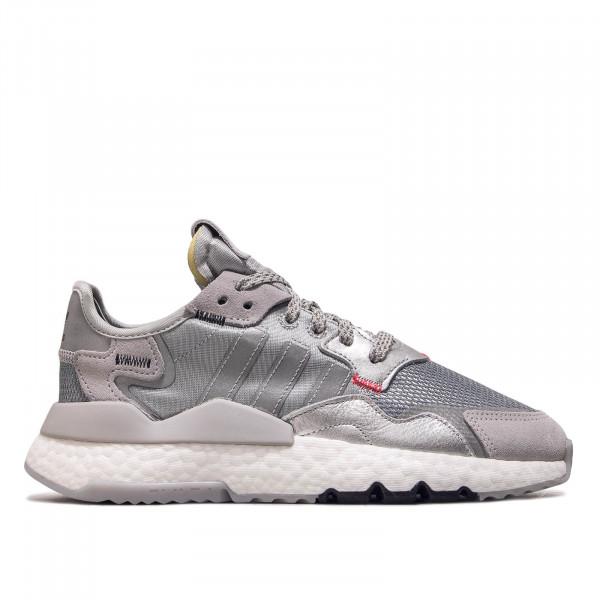 Unisex Sneaker Nite Jogger Silver White