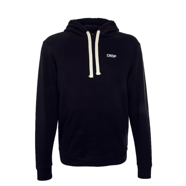 Crisp Hoody Embroidery Black