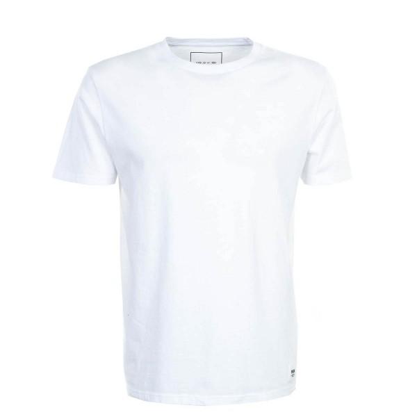 Kurzarmshirt Solid Bright White