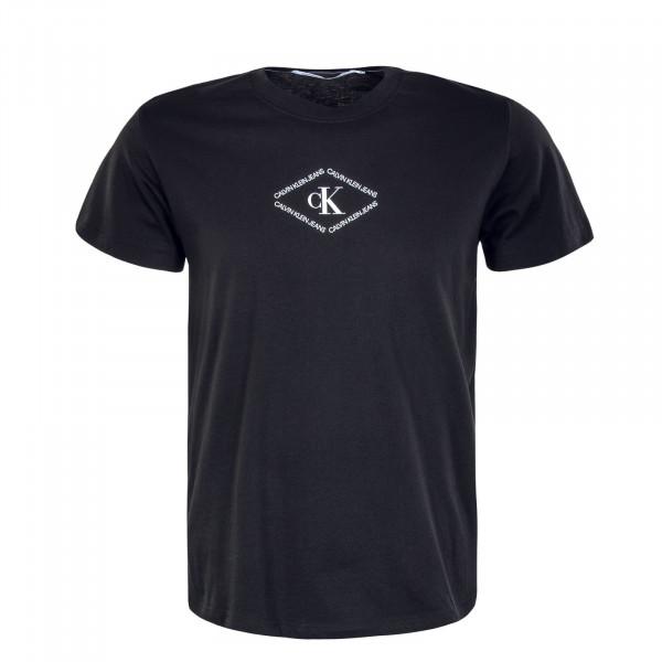 Herren T-Shirt - Monotriangle Tee 7448 - Black