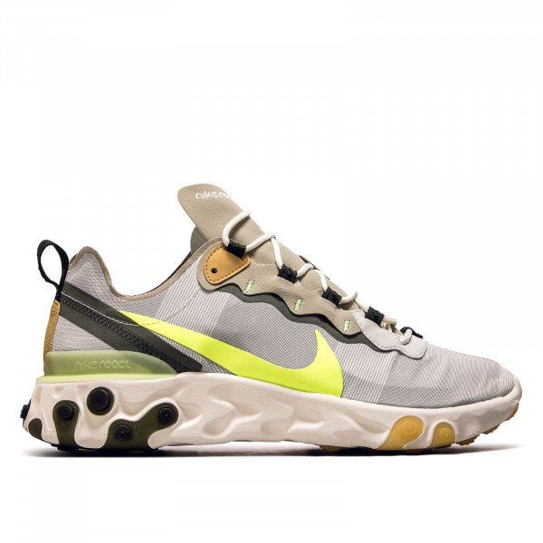 Herren Sneaker React Element 55 Grey Mint