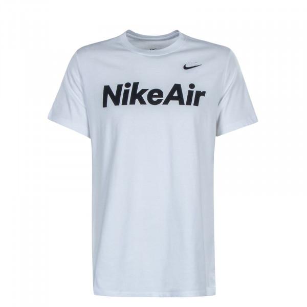 Herren T-Shirt NSW Air White Black