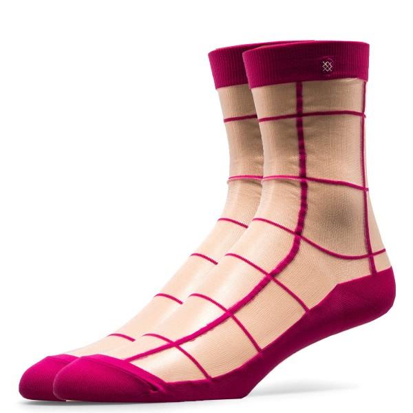 Stance Wmn Socks Retro Pink