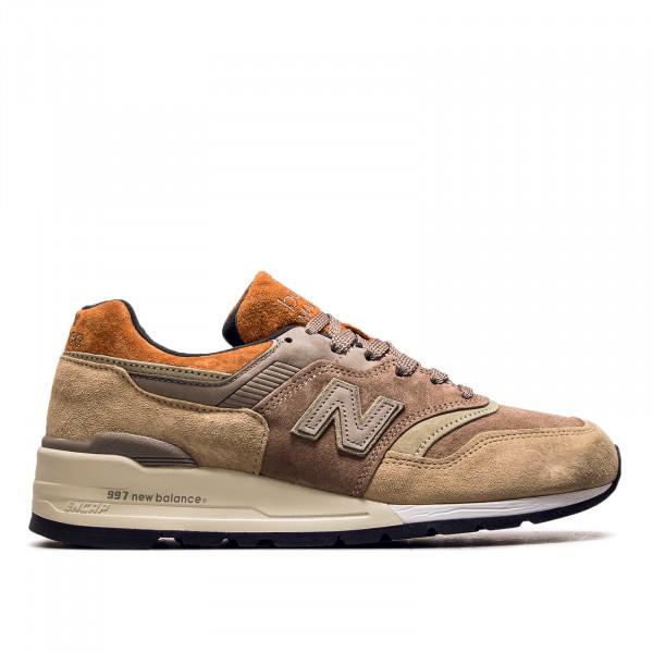 Herren Sneaker M997 NAJ Brown Grey