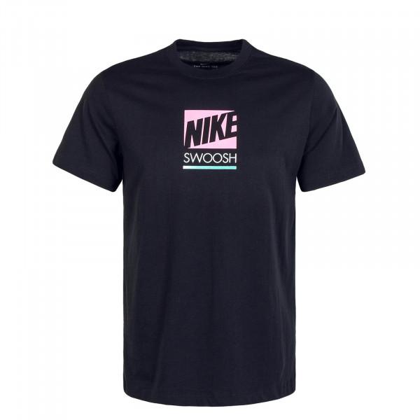 Herren T-Shirt Multi Color CW0474 Black