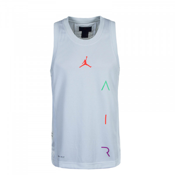Air Basketball Tank Jersey White Infrared 23