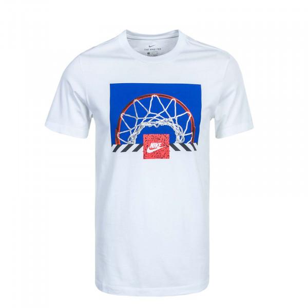 Herren T-Shirt NSW B Ball Photo White
