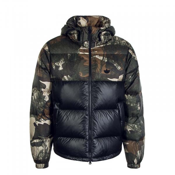 Herren Jacke Down Regen Camouflage