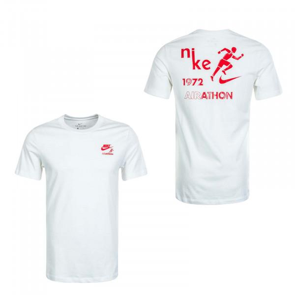 Herren T-Shirt Airathon Dstrd CT6873 Sail