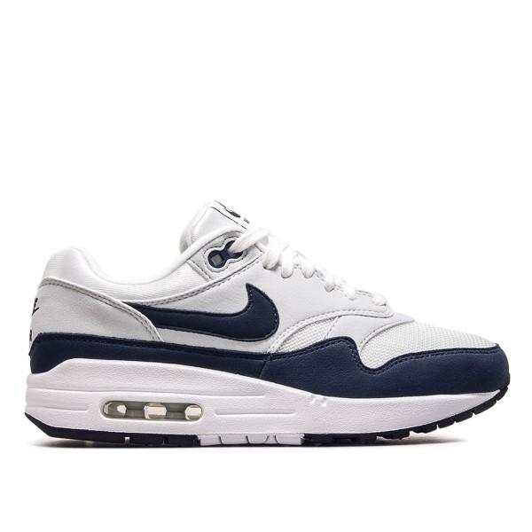 Nike Wmn Air Max 1 White Navy Grey