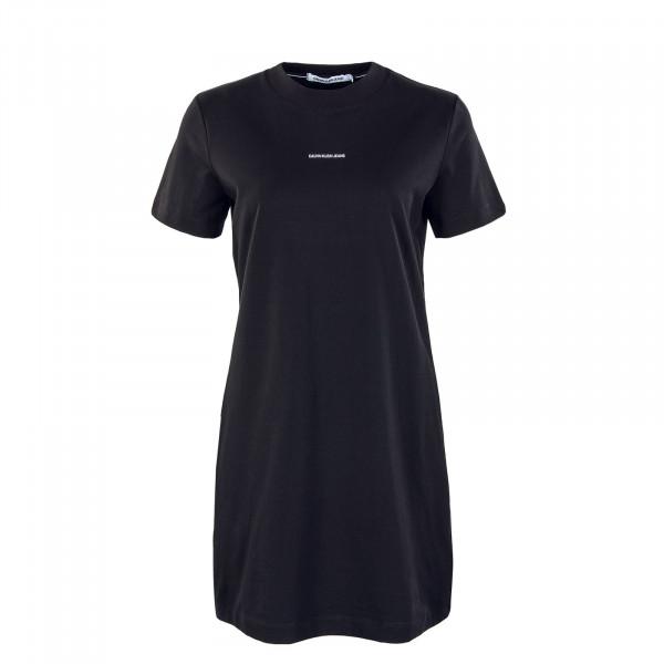 Damen Kleid - Micro Branding TS 5654 - Black