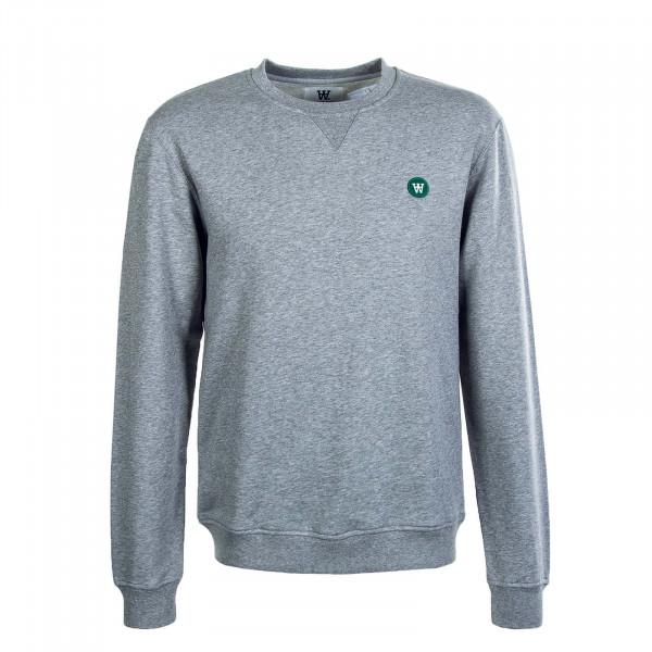 Herren Sweatshirt Tye Grey Melange
