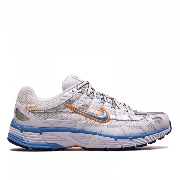 Damen Sneaker P 6000 White Blue Orange