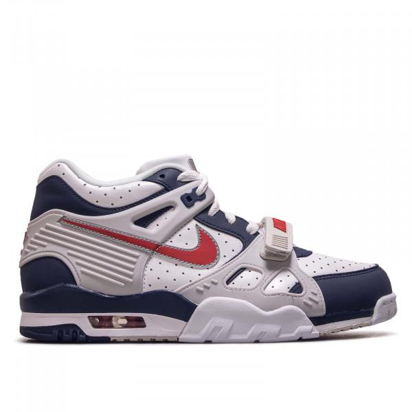 Herren Sneaker Air Trainer 3 Midnight Navy University Red