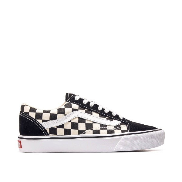Vans U Old Skool Lite Checkerboard Black
