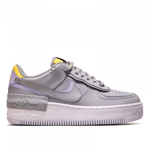 Damen Sneaker AF1 Shadow Grey Purple Yellow