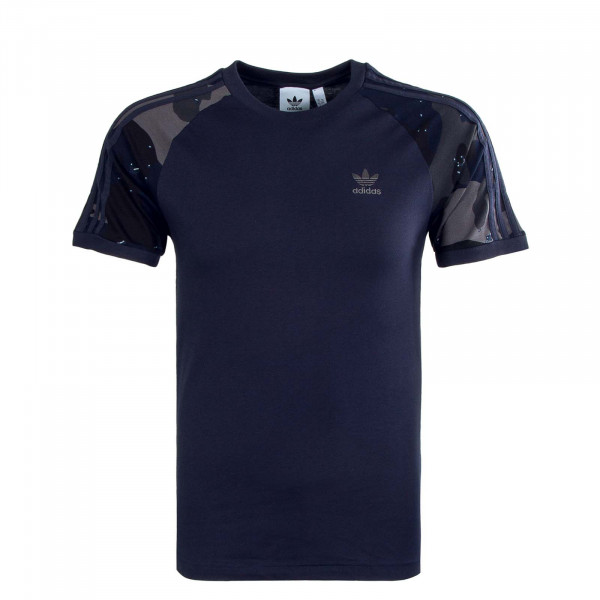 Herren T-Shirt - Camouflage Cali - Navy