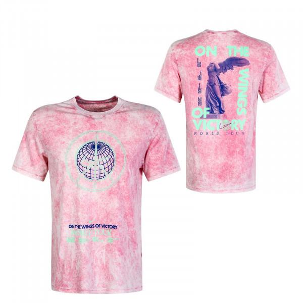 Herren T-Shirt Music Tour Wash CW0406 Rose