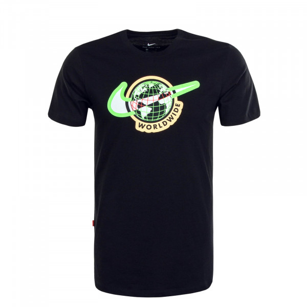 Herren T-Shirt Swoosh Worldwide Tee Black