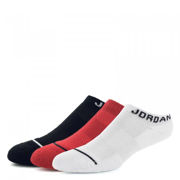 Nike Jordan Socks SX 5546 3er Pack Red