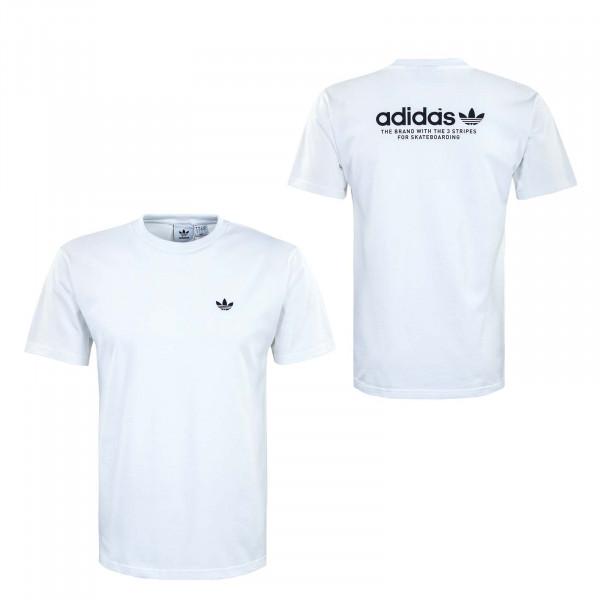 Herren T-Shirt - 4.0 Logo GM5176 - White / Black