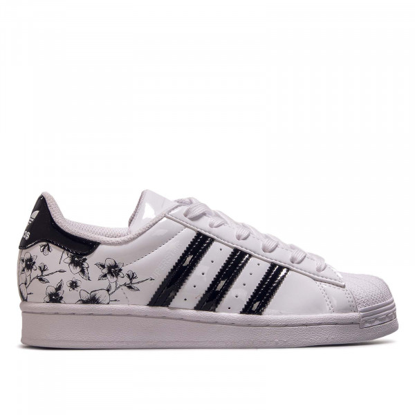 Damen Sneaker Superstar J White Black Black Noises