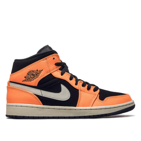 Nike Air Jordan 1 Black Orange Grey