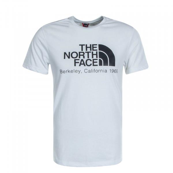 Herren T-Shirt Berekely California White