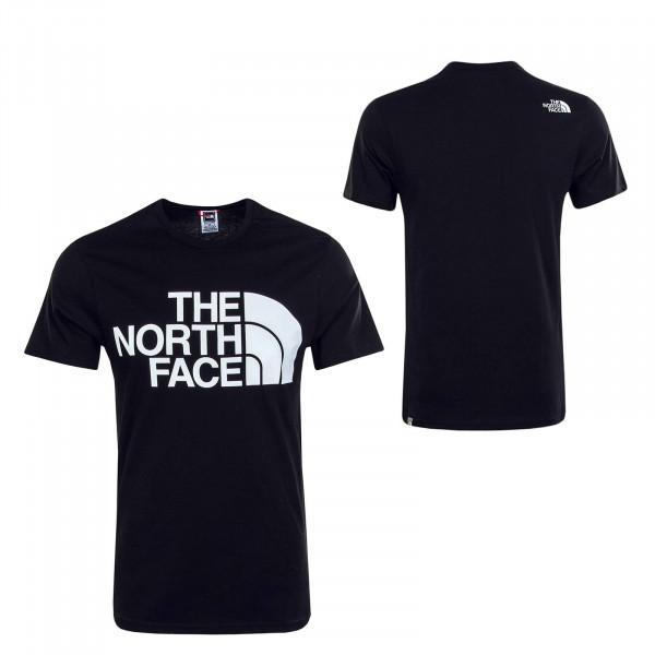 Herren T-Shirt Standard Black White