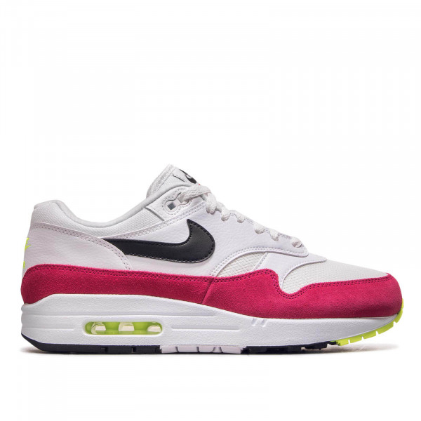 Herren Sneaker Air Max 1 White Black Pink