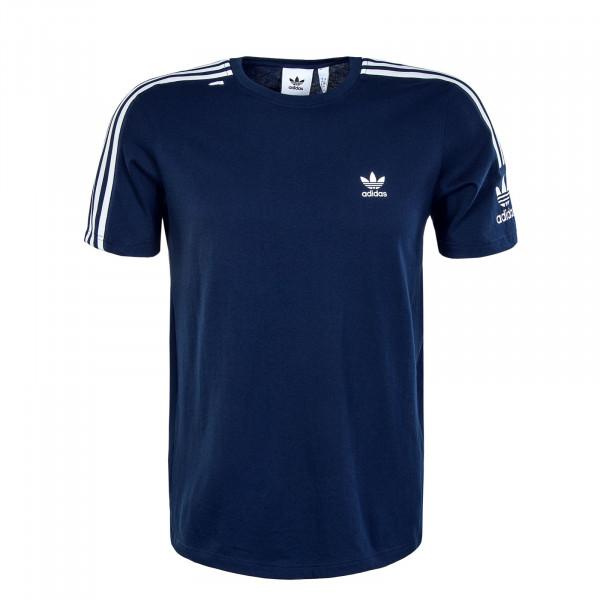 Herren T-Shirt - Tech Tee - Navy / White