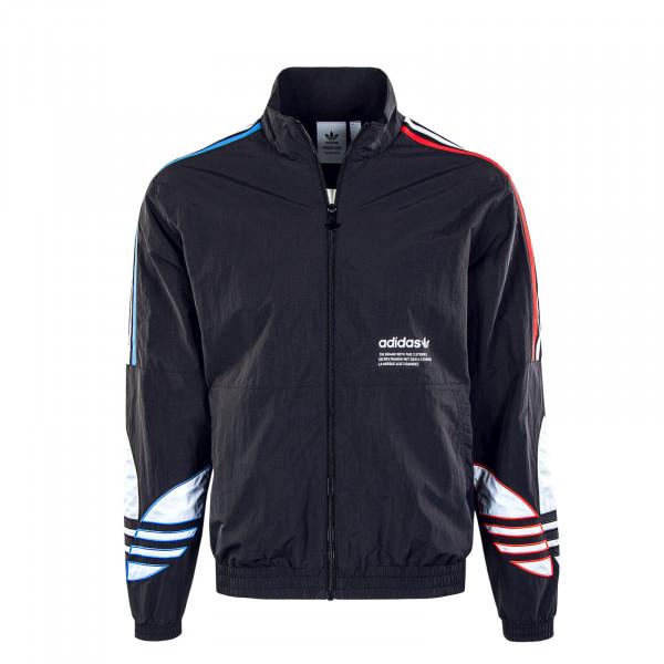 Herren Trainingsjacke - Tricolor Trefoil - Black