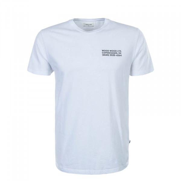 Herren T-Shirt Info White