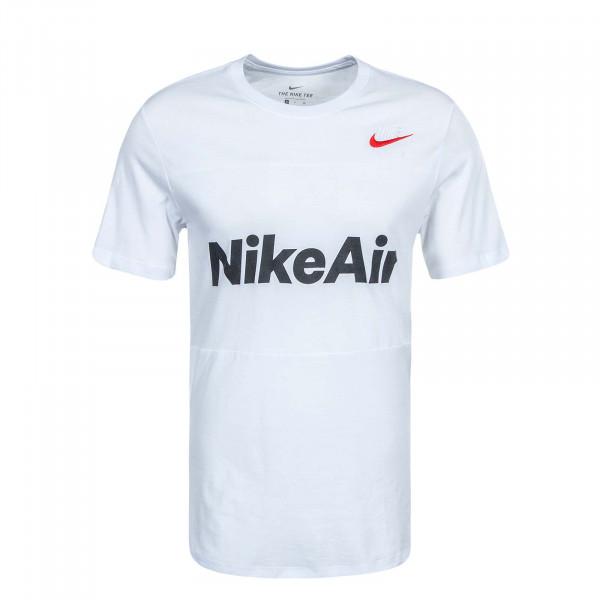 Herren T-Shirt Air CV2210 White White