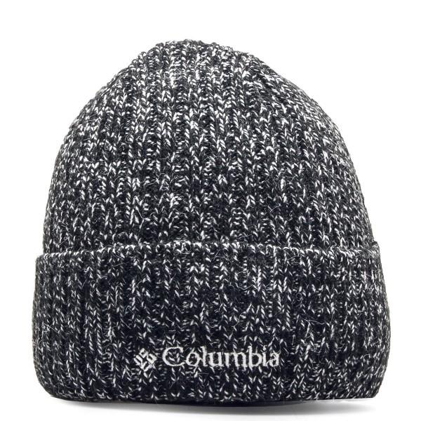 Columbia Beanie Watch Black White
