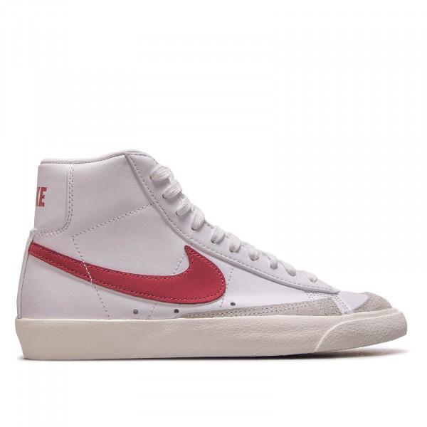 Unisex Sneaker Blazer Mid  77 White Red