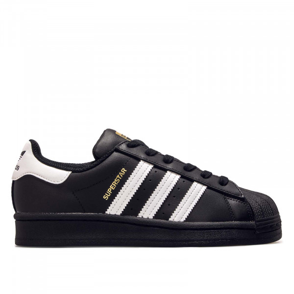 Damen Sneaker Superstar J Black White