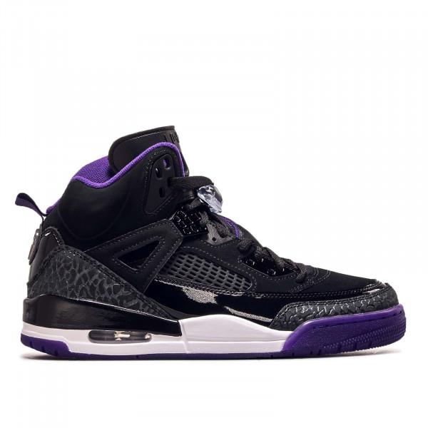 Herren Sneaker Spizike Black Purple White