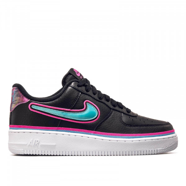 Nike Air Force 1 07 Black Blue Pink