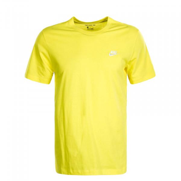 Herren T-Shirt NSW Club Optiye Yellow