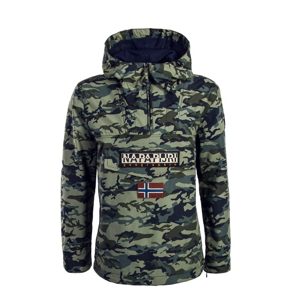 NAPAPIJRI Windbreaker Rainforest Camouflage