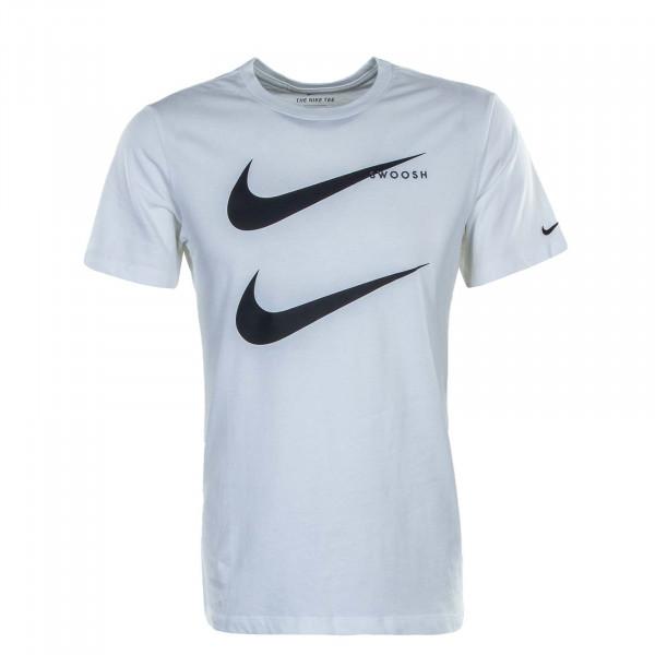 Herren T-Shirt Swoosh Pack White Black