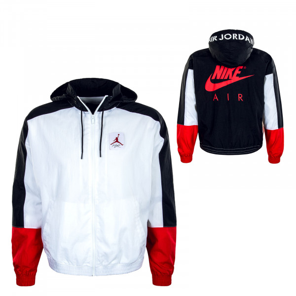 Herren Trainingsjacke - AJ4 - White / Black / Red