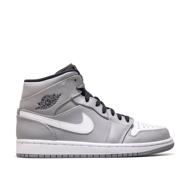 Nike Air Jordan 1 Mid Grey White