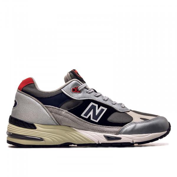 Herren Sneaker - M991 SKR - Silver / Grey / Navy / Red